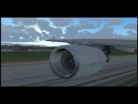 Air France Airbus A321 Marseille-London (Flight Sim)
