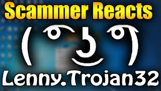 Scammer Reacts To Lenny.Trojan32.EXE | Tech Support Scammer Trolling