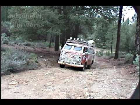 VW Bus Extreme Trailbashing - SST 10 Mule Town Road