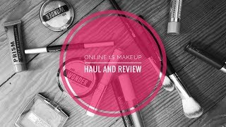 Online One Dollar Makeup Store Haul and First Impressions!