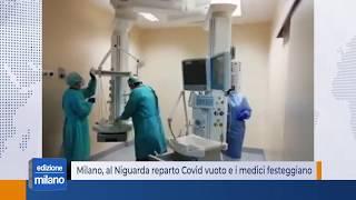 Milano, al Niguarda reparto Covid vuoto e i medici festeggiano