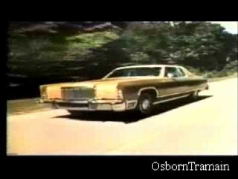 1975 lincoln continental full line commercial evolution of modern lincolns youtube. Black Bedroom Furniture Sets. Home Design Ideas