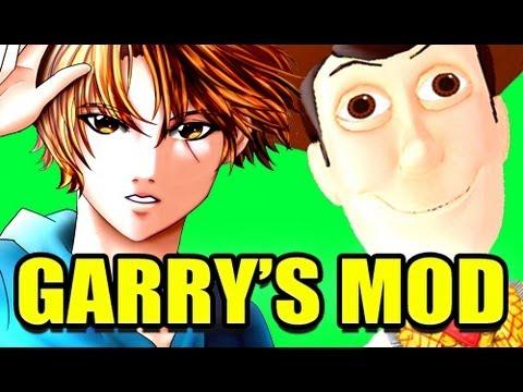 Gmod CREEPY WOODY Toy Story Mod! (Garry's Mod)