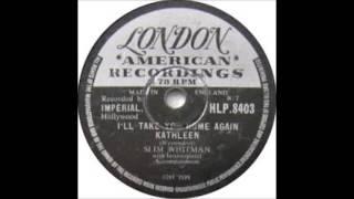Watch Slim Whitman Ill Take You Home Again Kathleen video