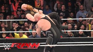 Big Show, Demon Kane & Ryback vs. The Wyatt Family: Raw, 22. Februar 2016