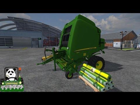 Farming Simulator 2013 Mod Review John Deere 864 Premium v1 1baler