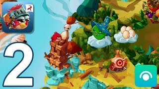 Angry Birds Epic RPG - Gameplay Walkthrough Part 2 - Cobalt Plateaus, Cobalt Pig Castle
