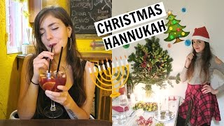 Christmas & Hanukkah In Barcelona! + What I Ate Today!
