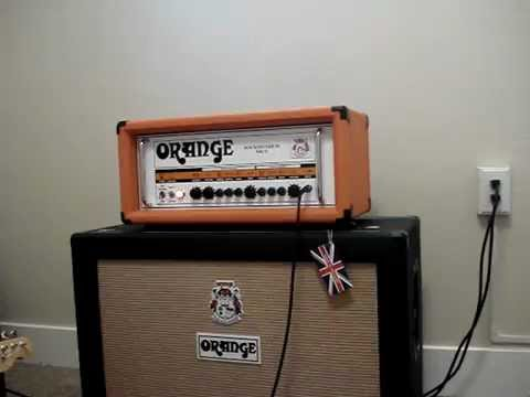 Orange Rockerverb 50 MkII w/ Fender Telecaster Jerry Donahue sig.
