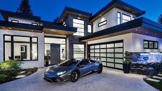 Magnificent New Ultra-Luxury Modern Dream Home In North Vancouver's Edgemont Village