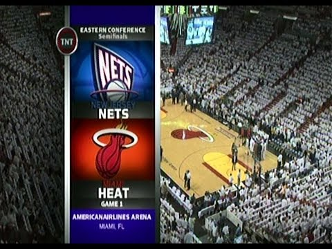 May 08, 2006- TNT,ESPN -Playoffs Conf Semifinals Game 01 Miami Heat Vs New Jersey Nets -Loss(00-01)