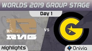 RNG vs CG Highlights Worlds 2019 Group Stage Royal Never Give Up vs Clutch Gaming by Onivia