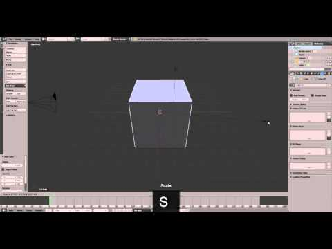 Shortcut Key for Transform in Blender 3D (magizskill - Multimedia Tutorial) on ZigZagTV