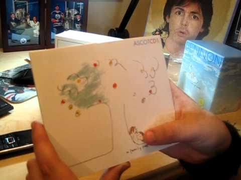 John Lennon Anthology Box Set Opening