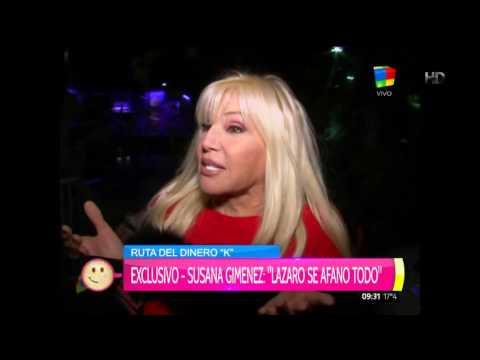 La pregunta que incomodó a Susana Giménez