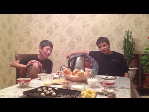 Kazakh Eli - (Baby Star and Meirambek Bespayev) at Home
