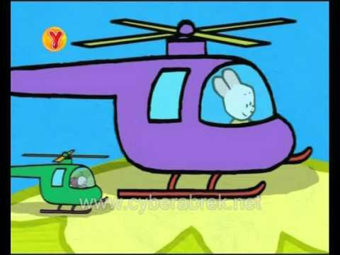 Louie Helikopter çiziyor