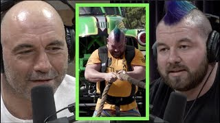Strongman Rob Kearney Pulled 2 Monster Trucks | Joe Rogan