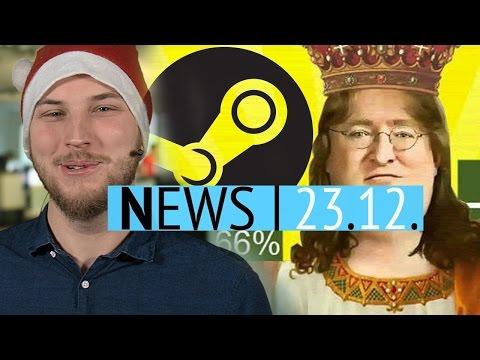 Steam Winter Sale gestartet - Die umsatzstärksten Spiele des Jahres - News