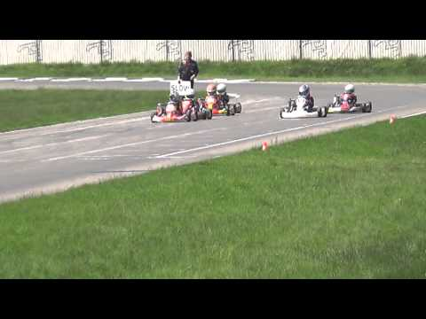 Karting Genk - Bjarne Vander Linden - BMC Race 19 may 2013