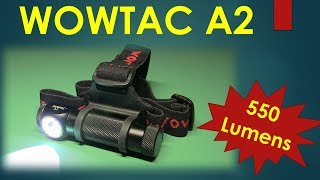 WOWTAC A2 550 Lumen Headlamp
