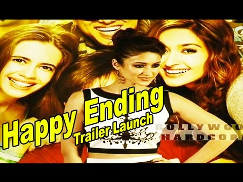 Happy Ending Movie Trailer Launch | Saif Ali Khan, Ileana D'cruz, Govinda & Kalki video