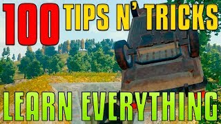 100 Tips and Tricks - Learn Everything | PUBG