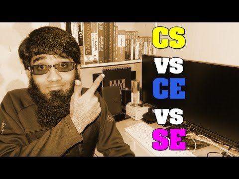 Computer Science Vs Computer Engineering Vs Software Engineering - CS Vs CE Vs SE