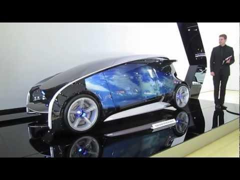 TOYOTA fun-vii CONCEPT CAR AT 2012 DETROIT AUTO SHOW