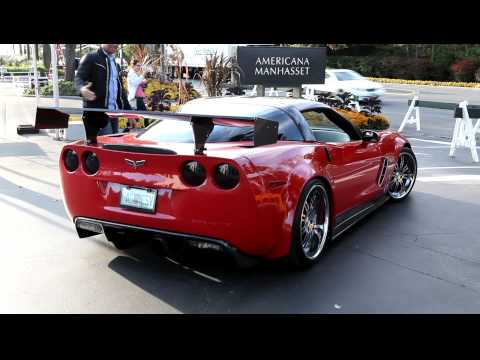 Corvette Z06 Exhaust Sound loud Revs AGGRESV
