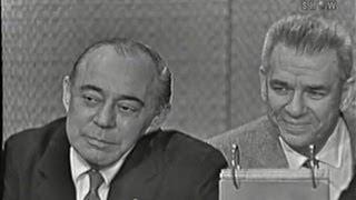 What's My Line? - Rodgers & Hammerstein; Martin Gabel & Paulette Goddard [panel] (Nov 29, 1959)