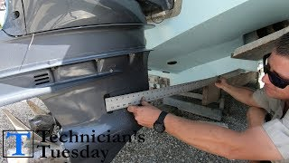 How To Mount An Outboard Motor Properly - Start to Finish!