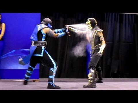 Scorpion vs Sub Zero COSPLAY [MASGAMERS VII]