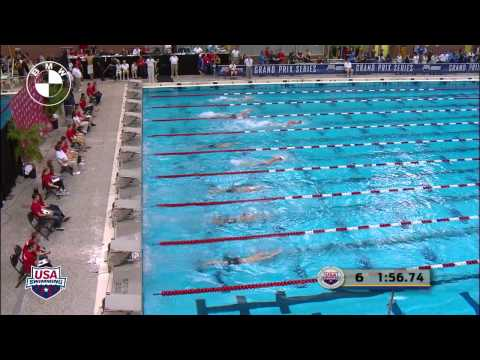 Men's 400m Freestyle B Final - 2012 Columbus Grand Prix