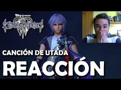 Kingdom Hearts 3 Trailer - Reacción al nuevo tema de Utada y el diseño de Riku y Mickey (Español)