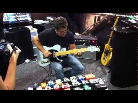 Brent Mason at the Wampler Pedals Booth - Summer NAMM 2012