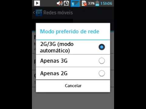 [Tutorial] Como configurar a rede 3G do seu Smartphone.