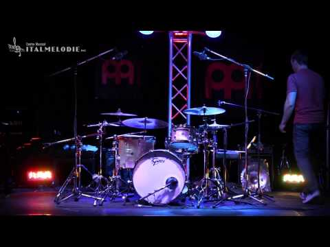 Italmelodie - Mike Johnston Drum Clinic Montreal