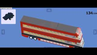 How to make a red lego bus 1.3