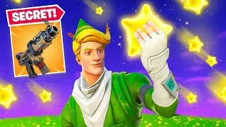 *NEW* SHOOTING STARS in Fortnite! (Secret Weapon)