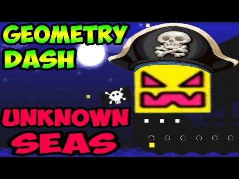 Geometry Dash 2.1 - Unknown Seas | Пираты Карибского моря