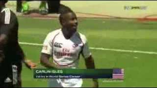Carlin Isles better plays Rugby