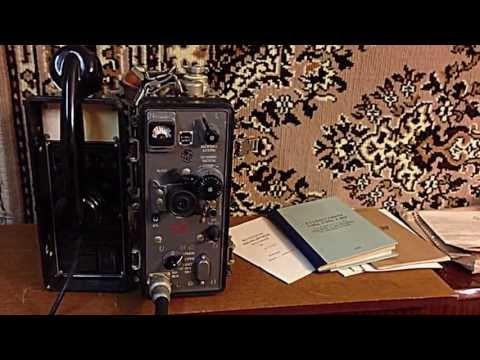 Радиостанция Р-105М Soviet Military Radio R-105M
