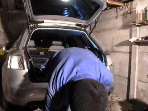 Audi A4 B7 Démontage Pare Choc arrière Montage radar de recul