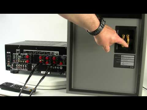 NEW 2013 ONKYO AV RECEIVER TX-NR626 - How to Bi-amp the main speakers
