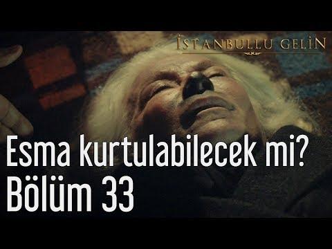 İstanbullu Gelin 33. Bölüm - Esma Kurtulabilecek mi?