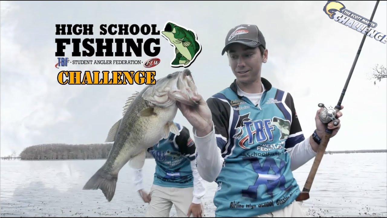 Smc season 10 9 high school bass fishing challenge on for Bass fishing challenge