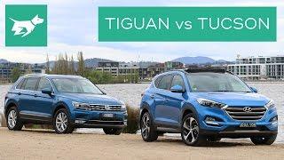 2017 Volkswagen Tiguan vs 2017 Hyundai Tucson Comparison Review