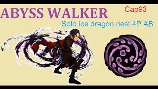 DragonNest TH AbyssWalker (cap 93) Solo Ice Dragon Nest -4P AB