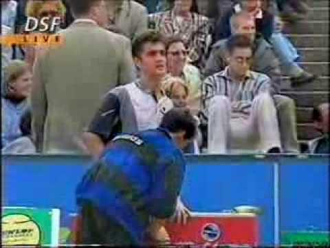 Thomas Muster - Hendrik Dreekmann - 2 R. BMW Open 1996 - Monachium